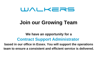 Contract Support Administrator Vacancy