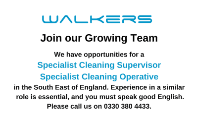 Specialist Cleaning Vacancies
